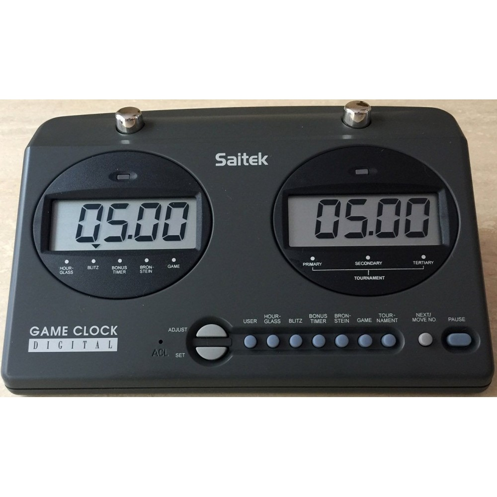 Шахматные часы электронные Saitek