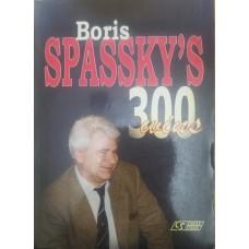 Boris Spassky's. 300 wins (Борис Спасский. 300 побед)