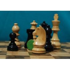 "Шахматные фигуры ""STANDARD"" (EBONISED(лак))"