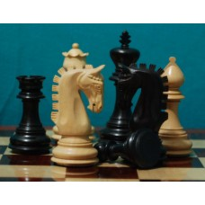 """Шахматные фигуры """"NEW IMPERIAL"""" (EBONISED)"""